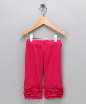 Fuchsia Capri Leggings - Infant & Toddler
