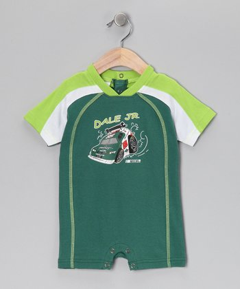 Green Dale Earnhardt Jr. Romper - Infant