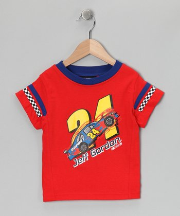 Red Jeff Gordon Tee - Toddler