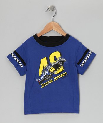 Blue Jimmie Johnson Tee - Toddler
