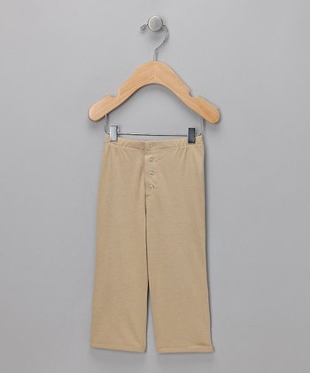 Tan Snappy Pants - Infant