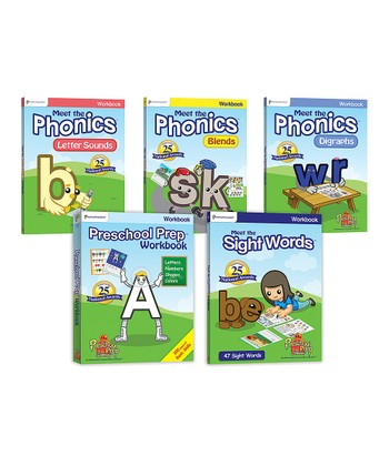 Preschool Prep & Sight Words Workbooks