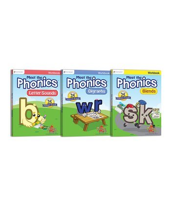 Phonics 3 Workbook Set