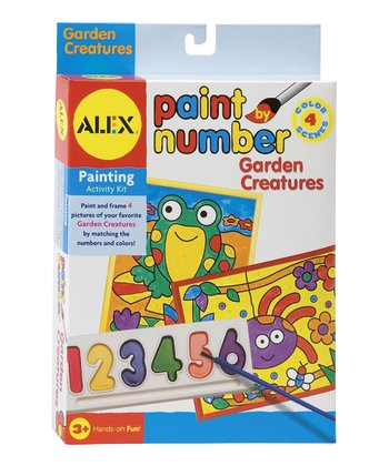 Paint By Number: Garden Creatures Kit