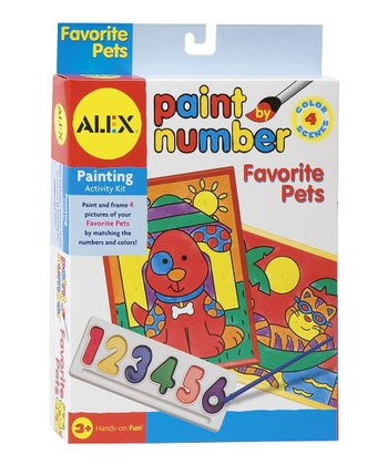 Paint By Number: Favorite Pets Kit