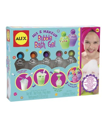 Mix & Makeup: Bubble Bath Gel Kit