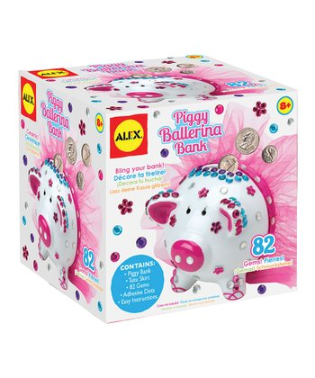 Piggy Ballerina Bank Kit