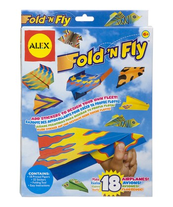 Fold 'n' Fly Paper Airplane Kit