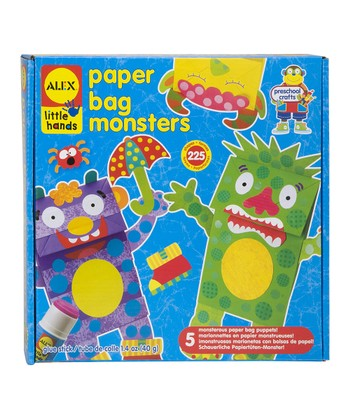 Paper Bag Monster Kit