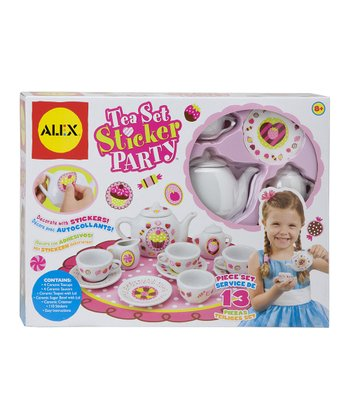 Tea Set Sticker Party Set