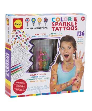 Sweet & Sparkle Tattoos Set