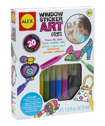 Glam Window Sticker Art Kit
