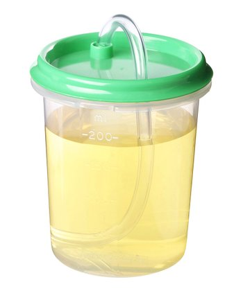 Green 8-Oz. Dinkee Straw Cup - Set of Three