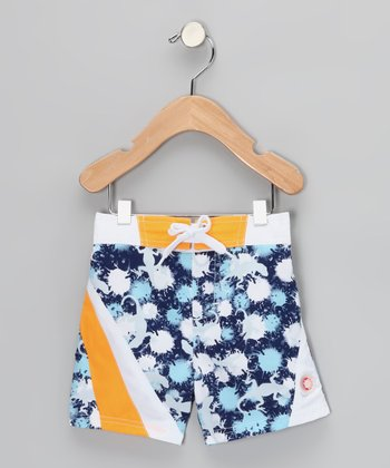 Blue Lizard Sun Alert Swim Trunks - Infant