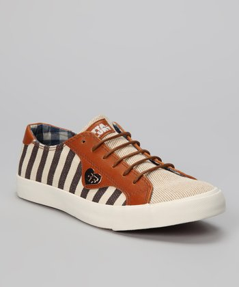 Brown & Natural Anchord Sneaker - Women
