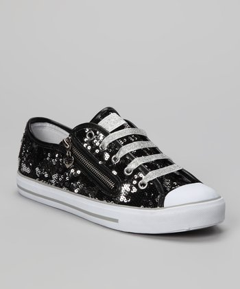 Black Mysterious Sneaker - Women