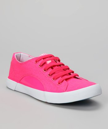 Pink Sunrise Sneaker - Women