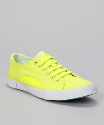 Yellow Sunrise Sneaker - Women