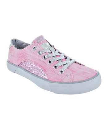 Pink Silver Sunset G Sneaker - Kids