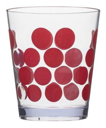 Red Dot 14-Oz. Double Old-Fashioned Tumbler - Set of Six