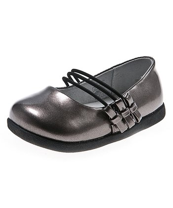 Silver Bow Metallic Flat