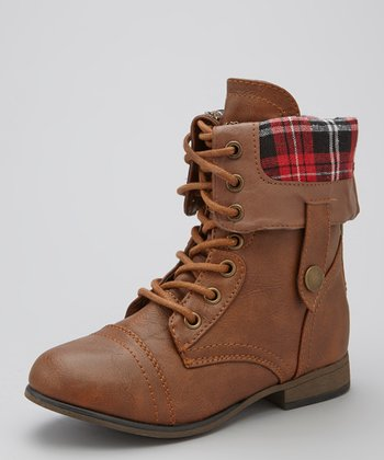 Tan Legend Fold-Over Boot