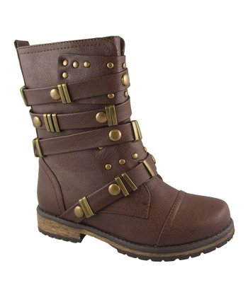 Brown Alisia Boot
