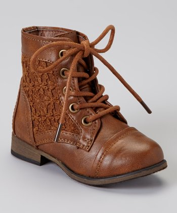 Tan Chapter Lace Boot