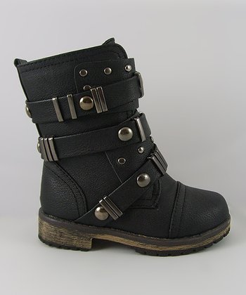 Black Alisia Boot