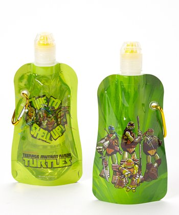 Teenage Mutant Ninja Turtles 12-Oz. Foldable Bottle - Set of Two