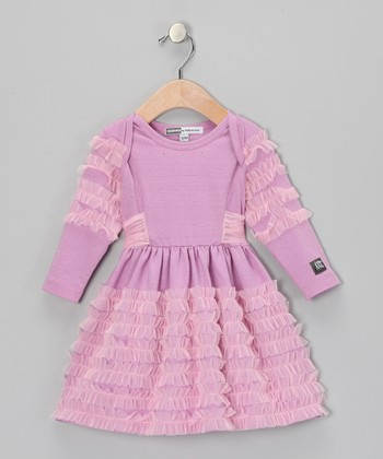 Grape Anemone Dress - Infant & Toddler