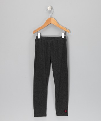 Charcoal Leggings - Toddler & Girls