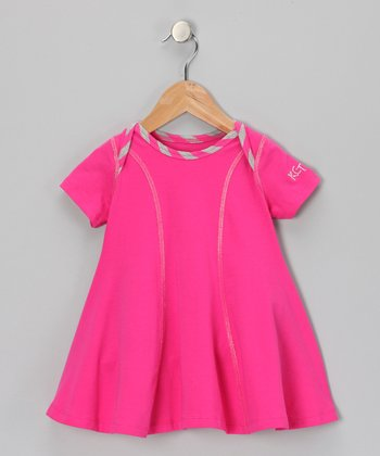 Raspberry Iris Dress - Infant & Toddler
