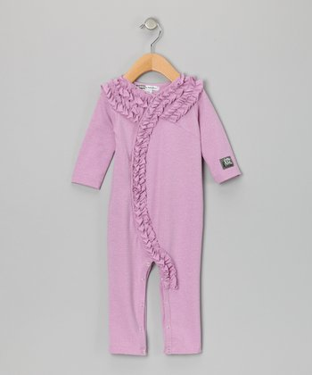 Grape Holly Playsuit - Infant
