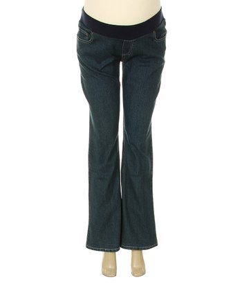 Denim Maternity Flare Jeans