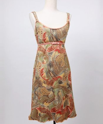 Paisley Baroque Emily Nursing Dress