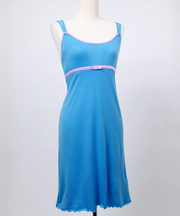 Periwinkle & Orchid Emily Nursing Dress