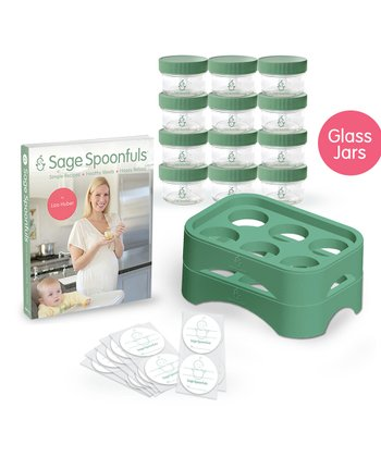 Sage Spoonfuls Sage Glass Mommy Combo Set