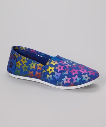 Cobalt Star Slip-On Shoe