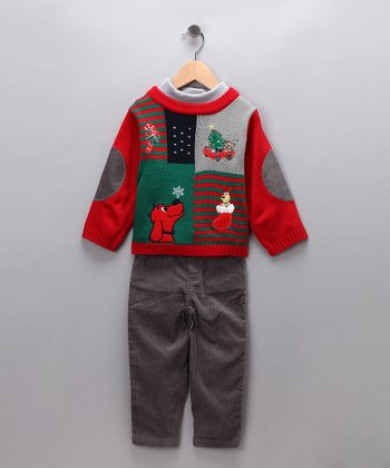 Baby Togs Clifford Pants Set - Toddler