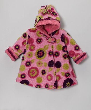 Berry Mum Wrap Swing Coat - Infant, Toddler & Girls