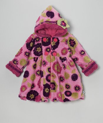 Berry & Purple Mum Mary-Jayne Coat - Toddler & Girls