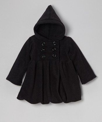 Black Fleece Mary-Jayne Bubble Coat - Girls
