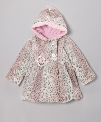 Pink On the Prowl Mary-Jayne Coat - Infant, Toddler & Girls