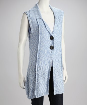 Pacific Sleeveless Knit Cardigan