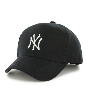 Navy Yankees Structured Baseball Cap - Kids