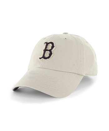 Natural Red Sox Clean Up Baseball Cap - Women