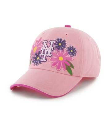 Rose Mets Daisy Clean Up Baseball Cap - Kids