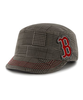 Gray Red Sox Dover Fidel Cadet Cap - Women