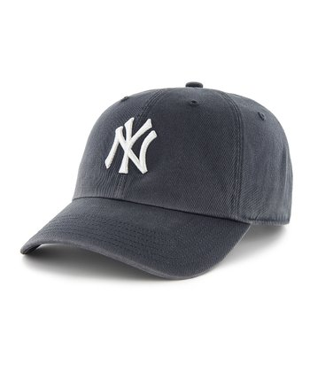 Navy Yankees Clean Up Baseball Cap - Women